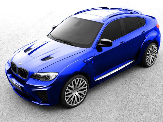 BMW X6 Wide Track от A. Kahn Design