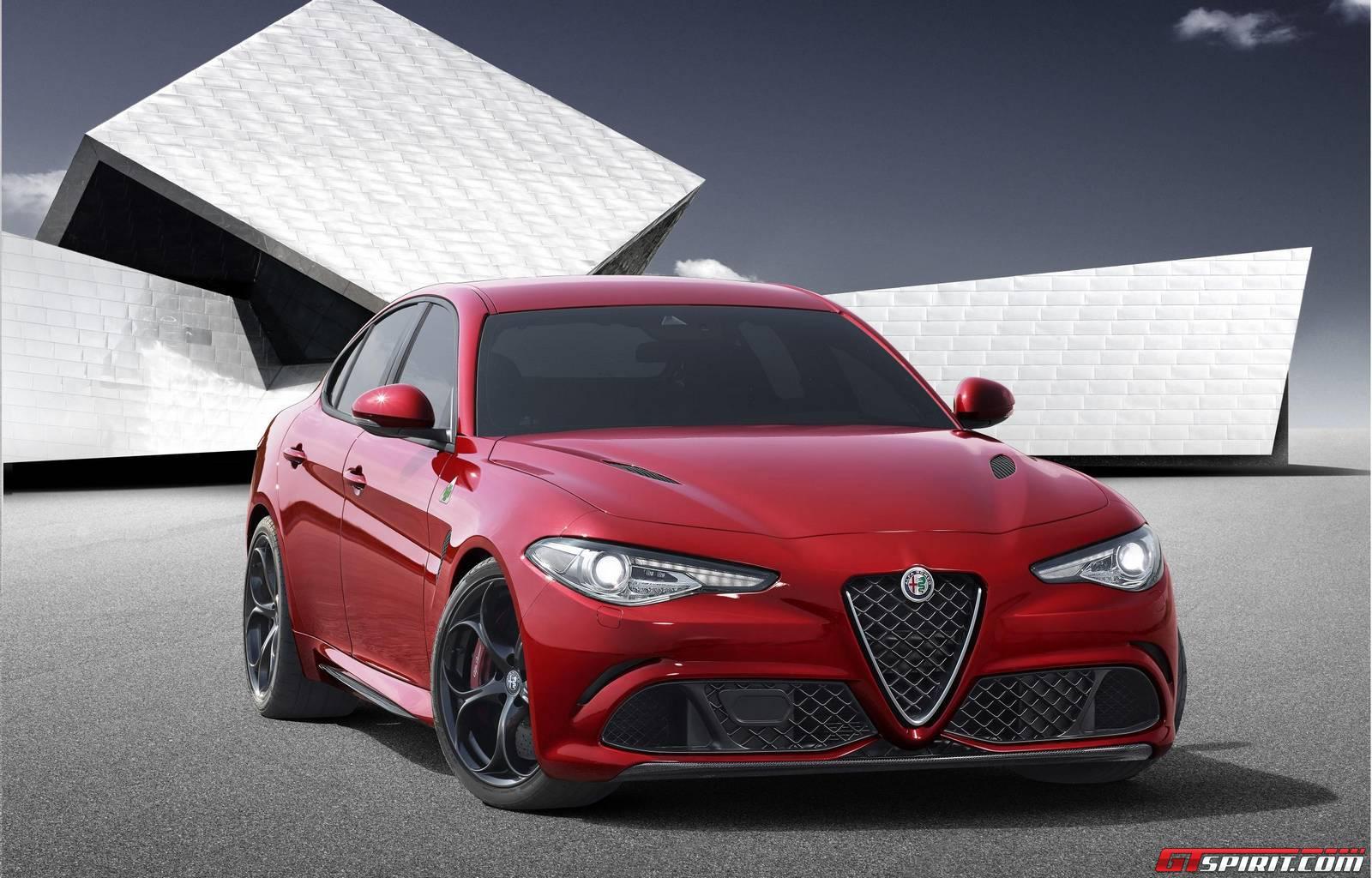 Рендеры Alfa Romeo Giulia в кузове кабриолет