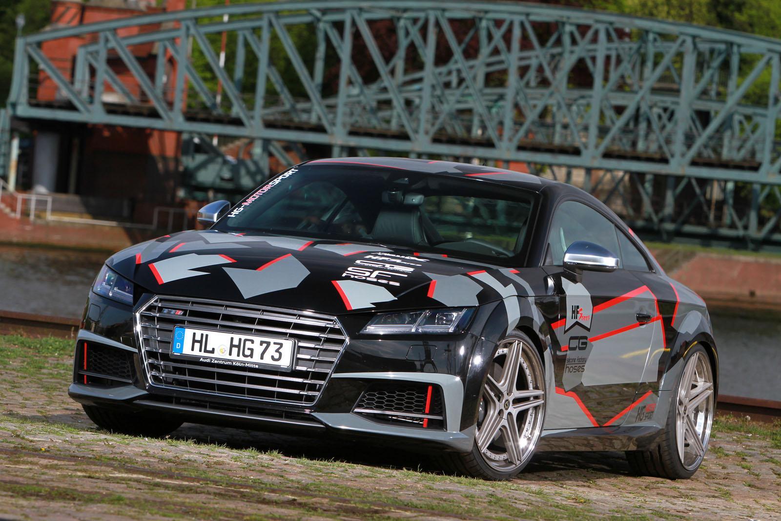 Тюнинг Audi TTS от HG-Motorsport