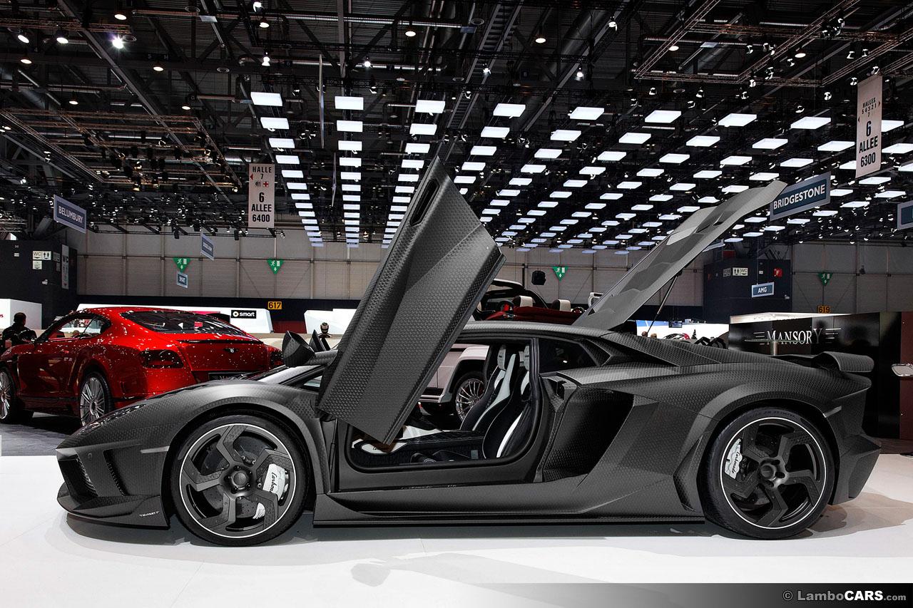 Твин-турбо Lamborghini Aventador разогнался до 350 км/ч на пол мили