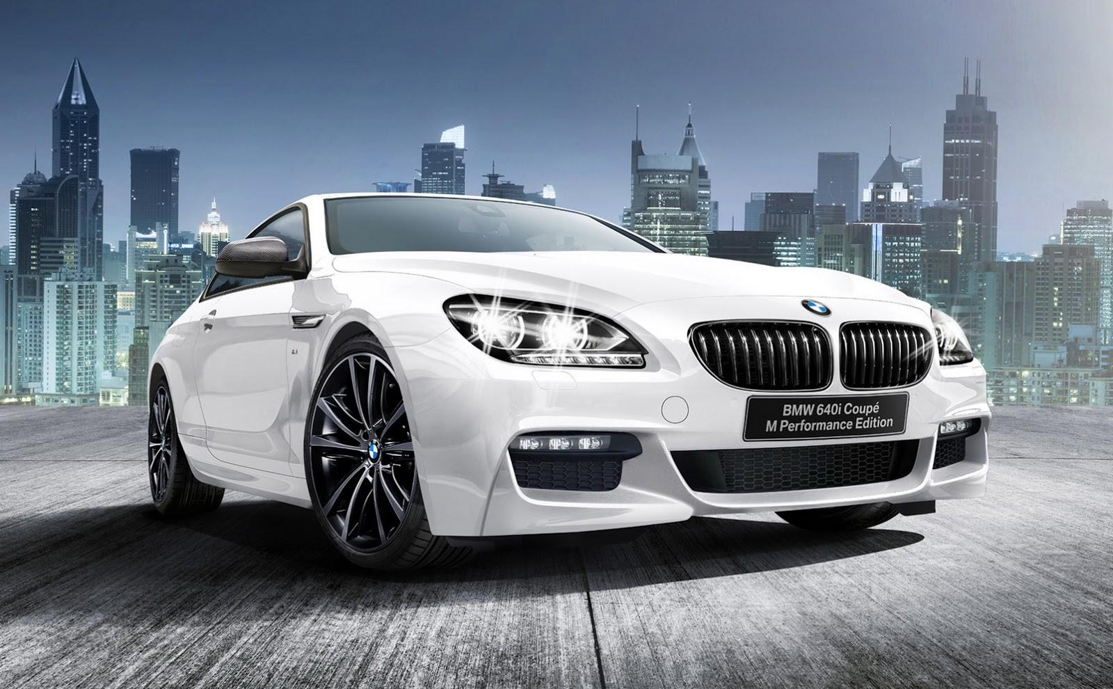 BMW выпустил 640i 2016 Coupe M Performance Edition