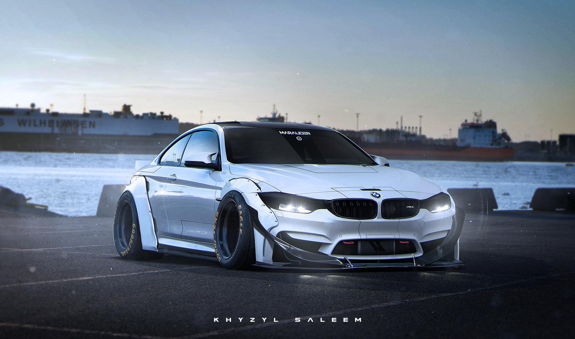 Сумасшедший концепт BMW M4 ''Marauder''