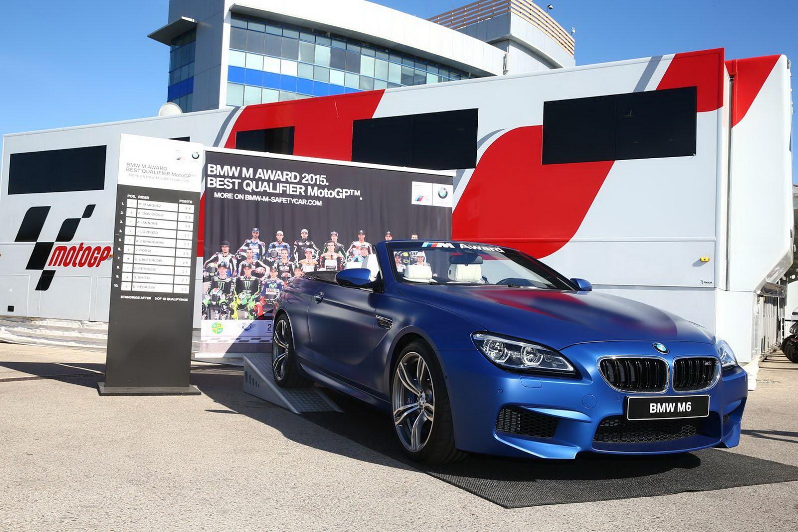 Лучший пилот MotoGP получит кабриолет BMW M6