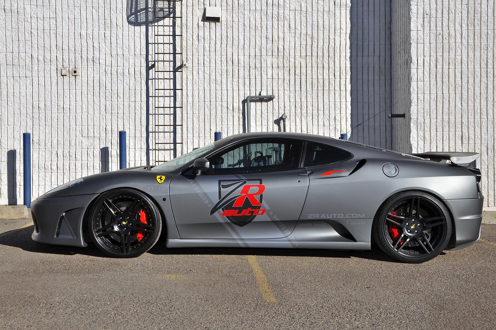 Тюнинг Ferrari F430 от Novitec