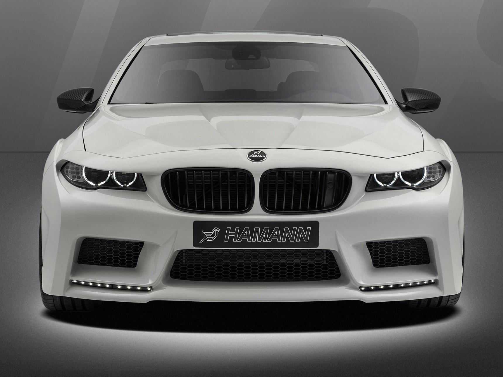 BMW F10 M5 Mi5sion от тюнинг-ателье Hamann