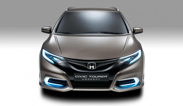 Женевский Автосалон-2013: Honda Civic Tourer Concept