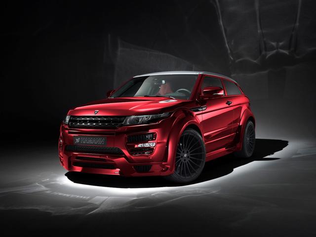 Компания Hamann блестяще справилась с Range Rover Evoque