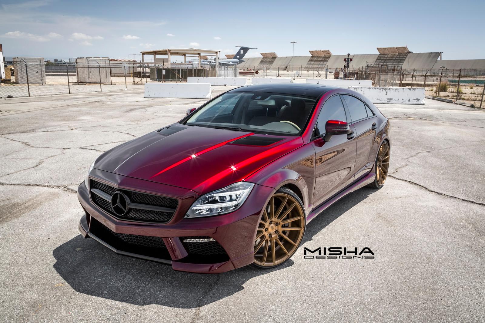 Mercedes-Benz CLS от тюнинг-ателье Misha Designs