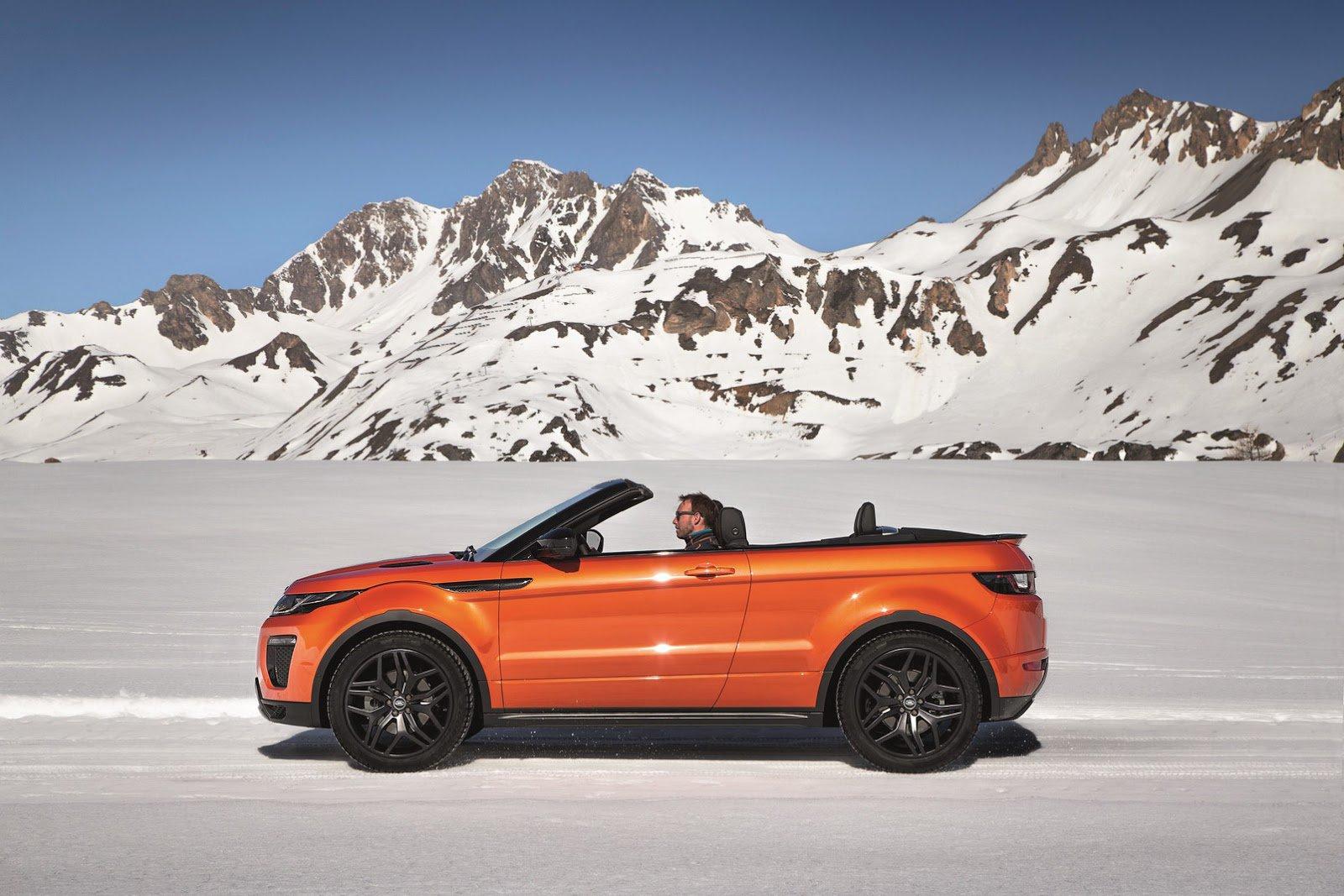 Видео-трейлер кабриолета Range Rover Evoque