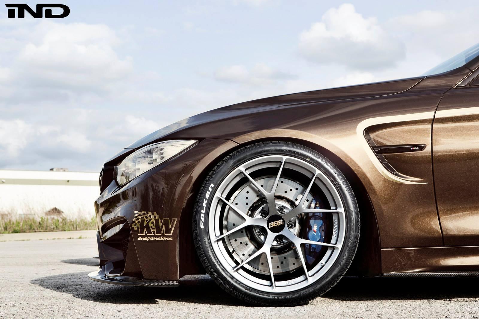 Великолепный BMW M4 от тюнинг-ателье IND