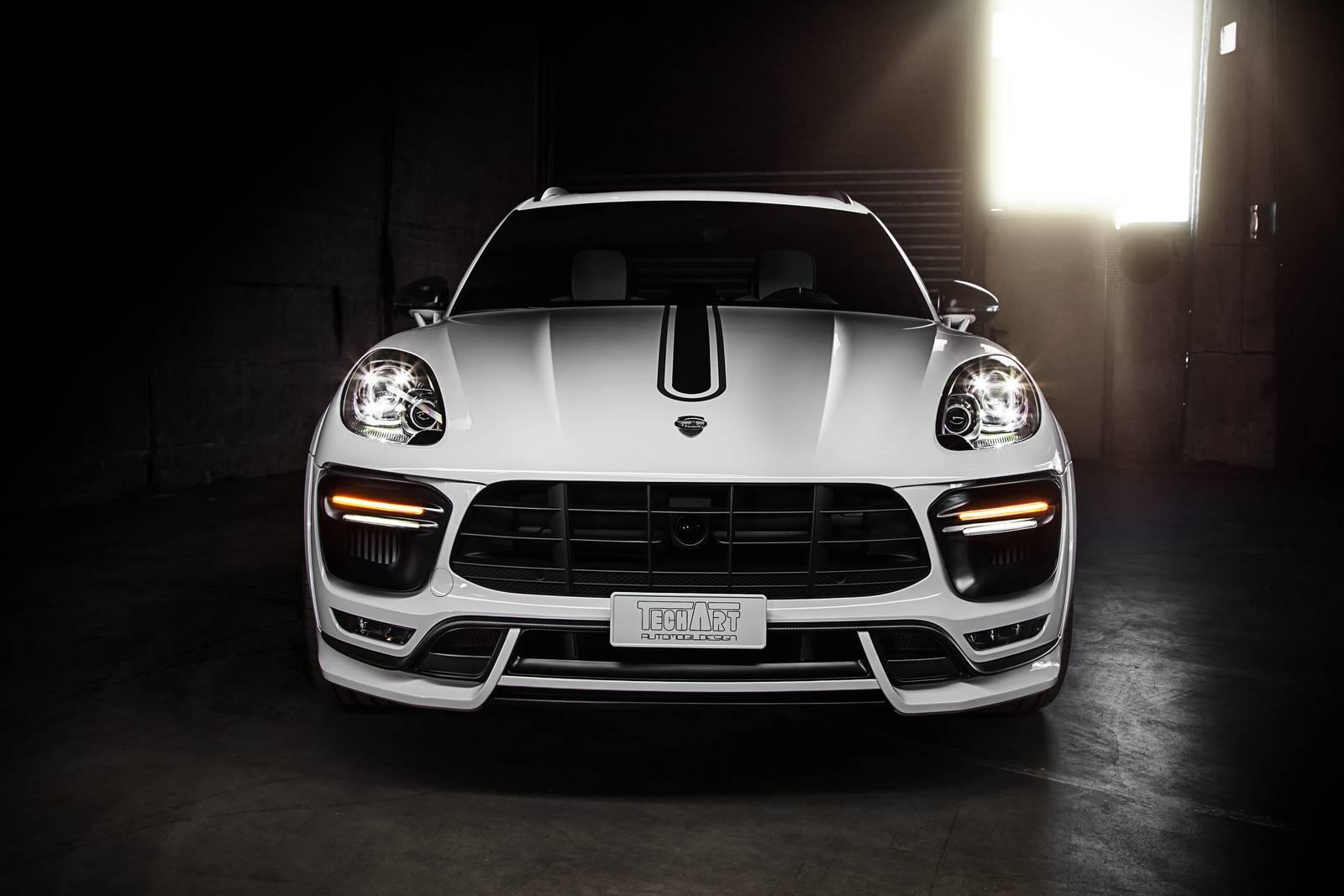 Новая подвеска от TechArt для Porsche Macan и Cayenne