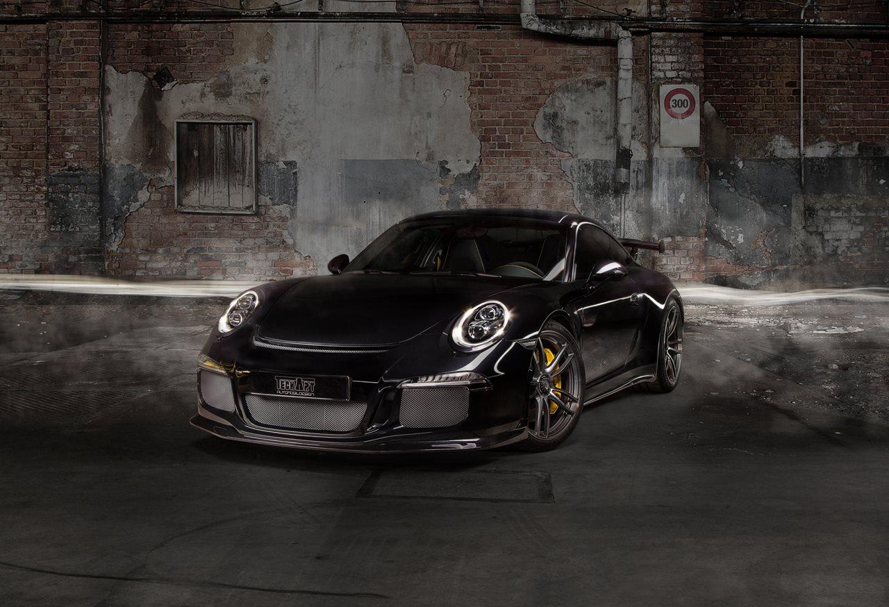 Porsche 911 GT3 S на дисках от TechArt