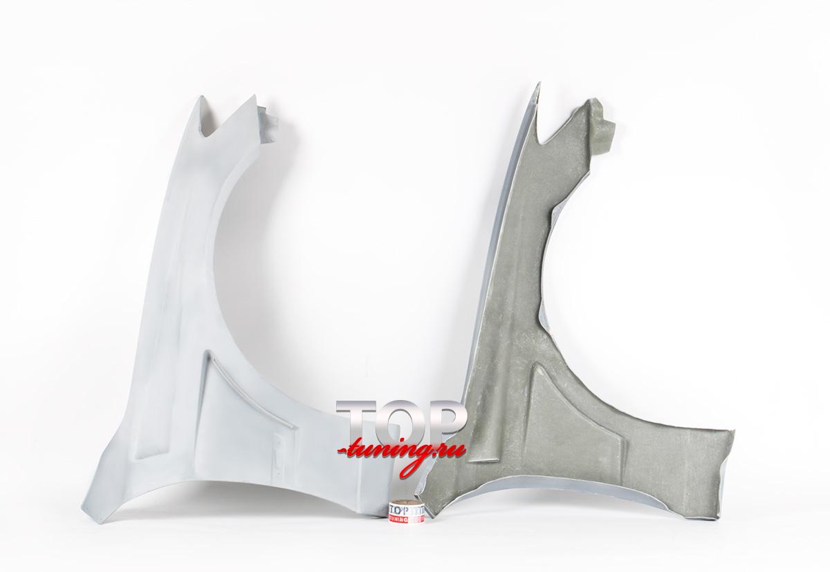 576 Передние крылья Top Gun на Toyota Altezza is200