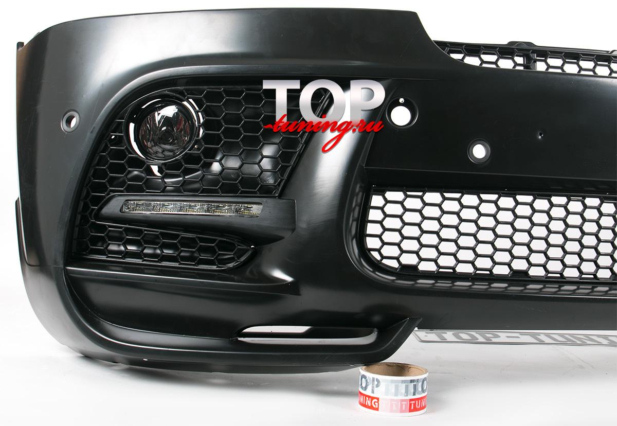 7910 Передний бампер Performance Style на BMW X6 E71