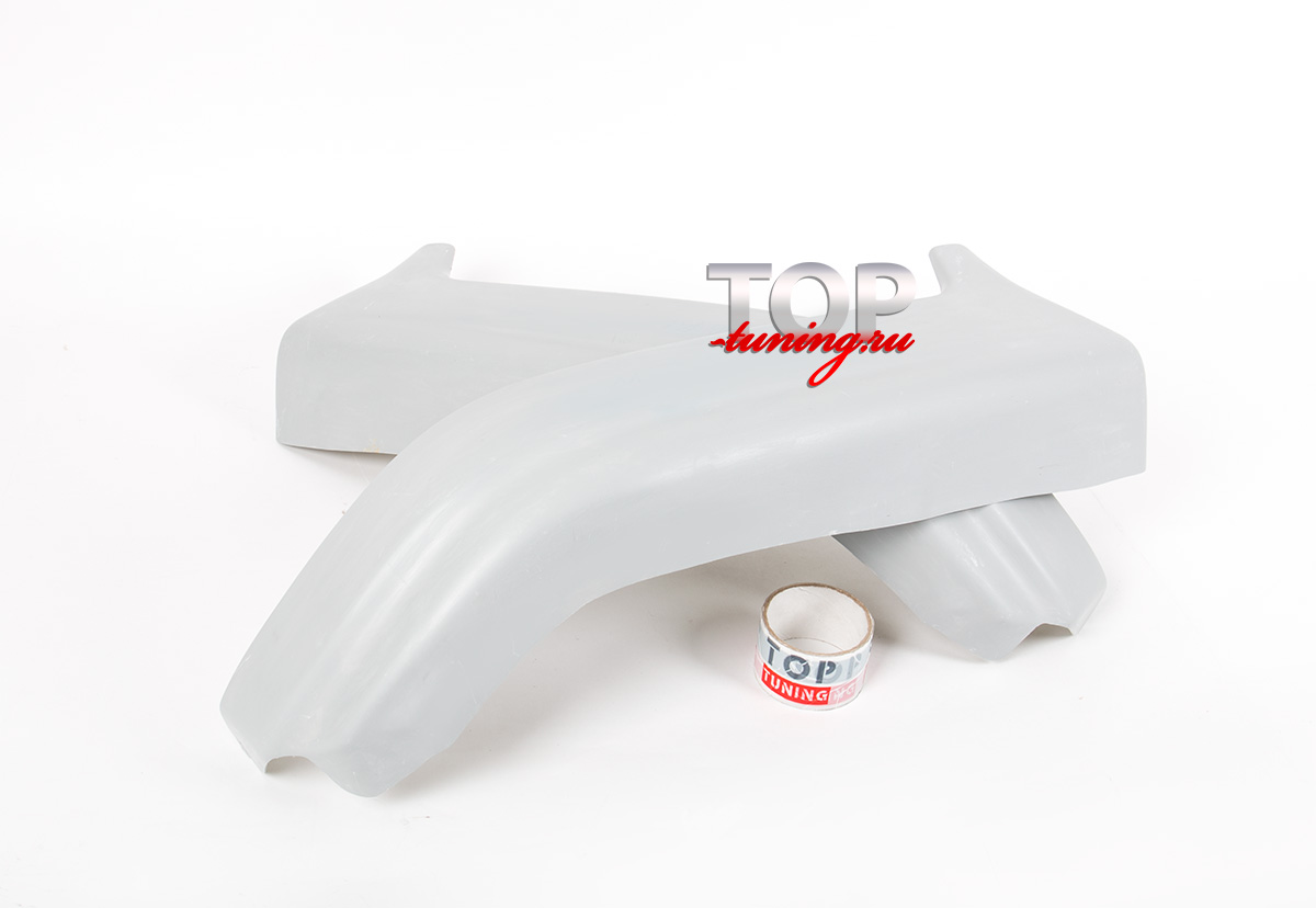 7983 Накладки на задний бампер VR-4 Super на Mitsubishi Galant 8