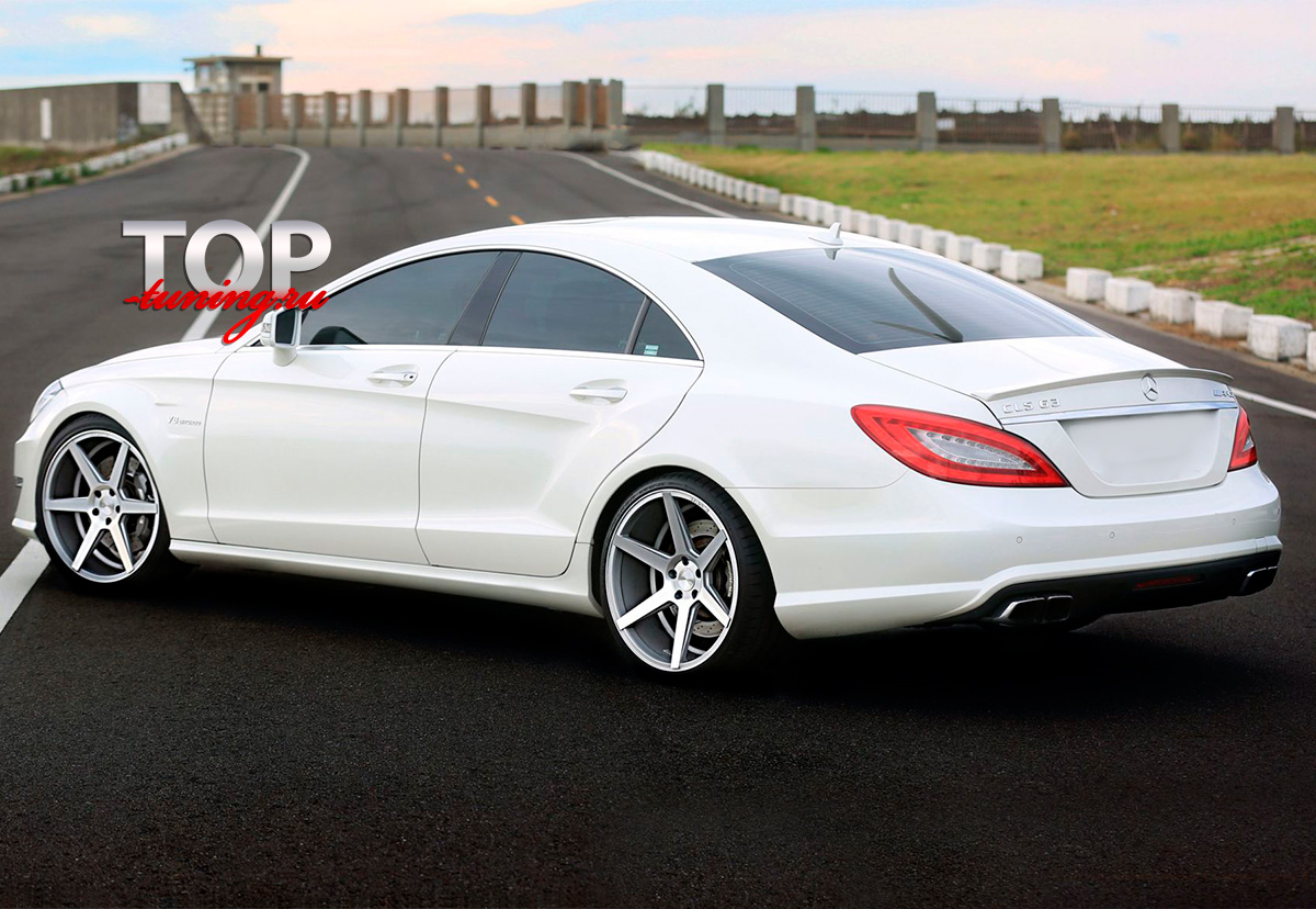 8160 Лип-спойлер AMG Style на Mercedes CLS 218