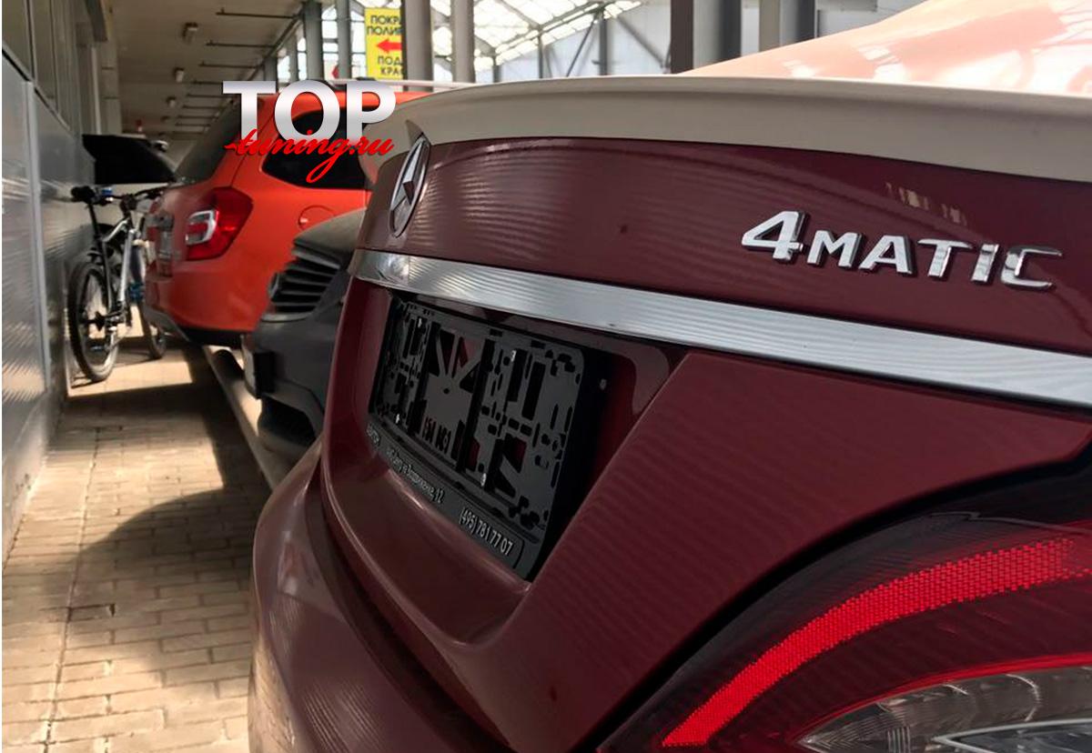 8160 Лип-спойлер AMG Style на Mercedes CLS W218