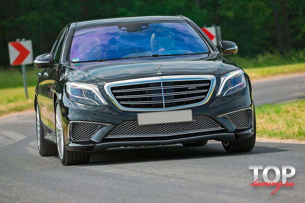 8176 Аэродинамический обвес Vision AMG style S63 S65 на Mercedes W222
