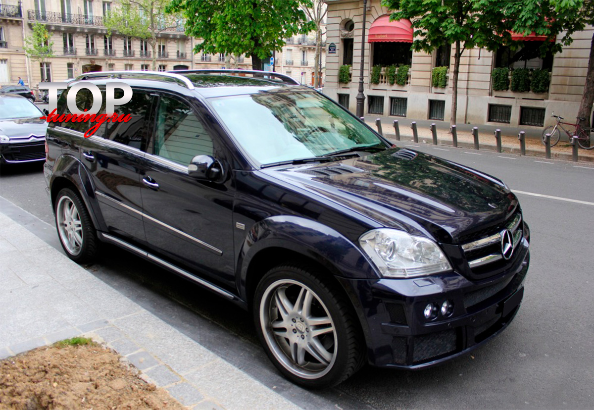 8180 Аэродинамический обвес Brabus Widestar на Mercedes GL-Class X164