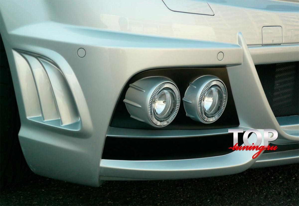988 Передний бампер - Обвес WALD на Mercedes C-Class W204