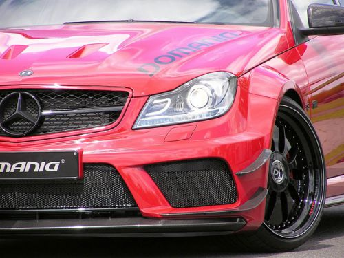 Domanig Ups the Mercedes-C63-AMG-Black-Series-to-600hp_6