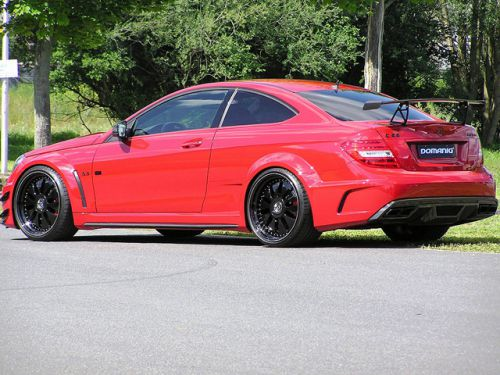 Domanig Ups the Mercedes-C63-AMG-Black-Series-to-600hp_2