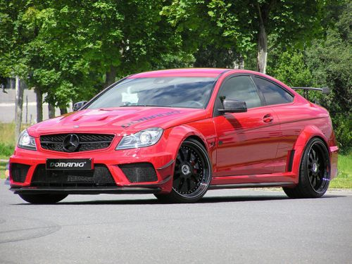 Domanig Ups the Mercedes-C63-AMG-Black-Series-to-600hp_1