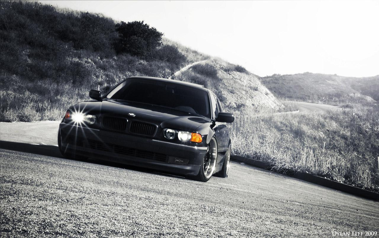 BMW 7 в кузове Е38