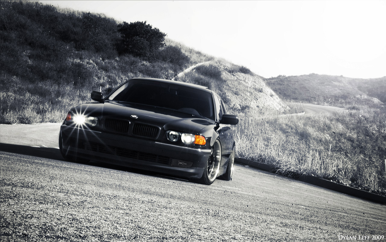 обвесы на BMW 7 e38