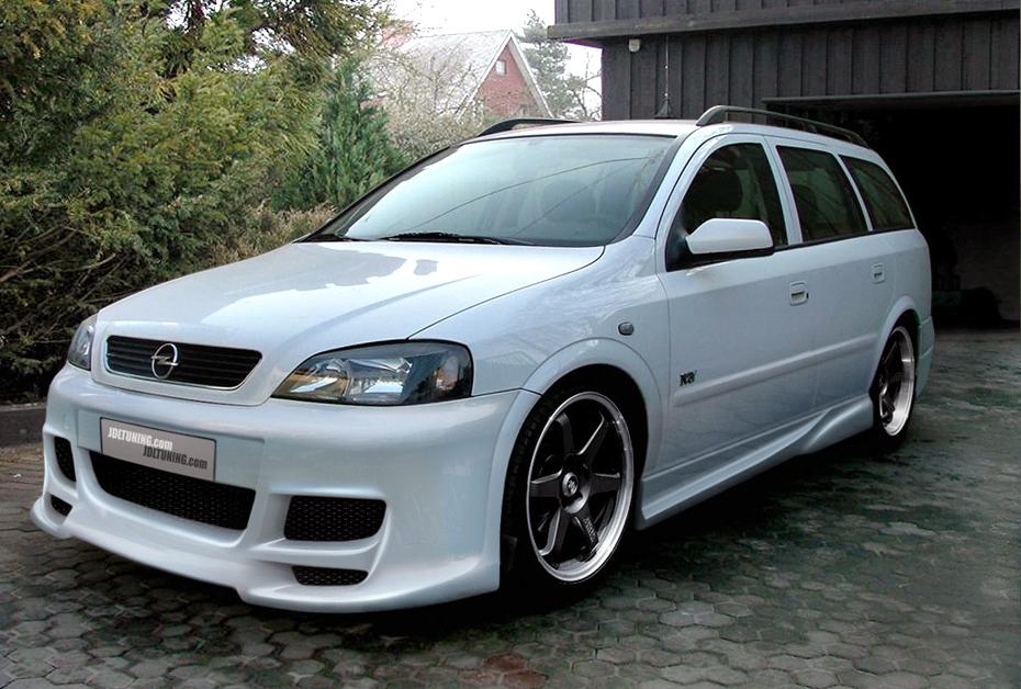 Opel Astra G тюнинг. Статьи, обзоры.