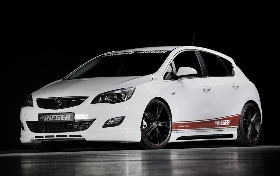 Opel Astra J тюнинг. Статьи, обзоры.