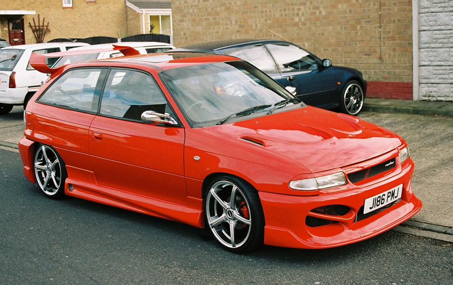 Opel Astra F тюнинг. Статьи, обзоры.