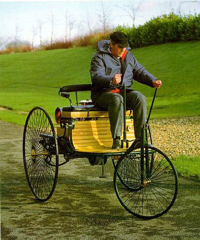 Бенц Вело - 1894 год. (три колеса)
