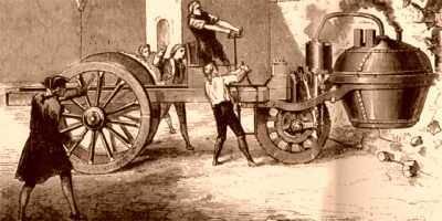 Первый автомобиль Кюгно