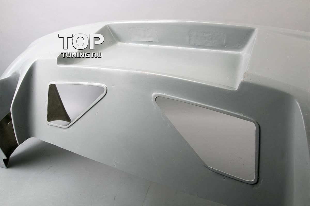 Задний бампер - Модель Warrior - Тюнинг Hyundai Tiburon GK