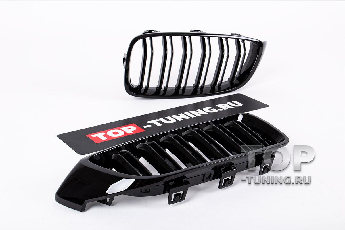 10069 Решетки радиатора M4 Look на BMW 4-Series F32/F33/F36
