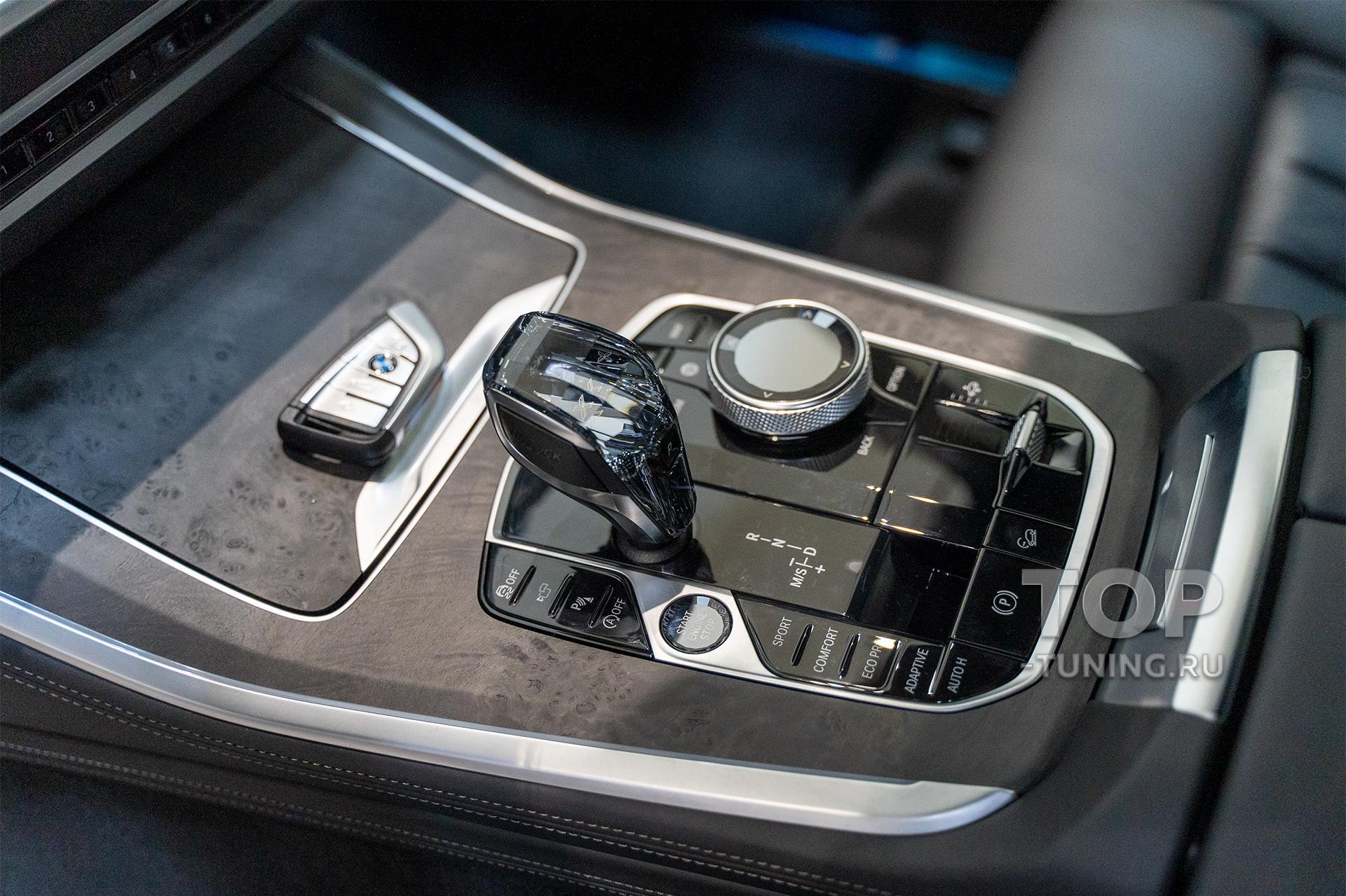 Шайба с сенсорным блоком iDrive, стеклянная Glass Clarity BMW (оригинальная опция)