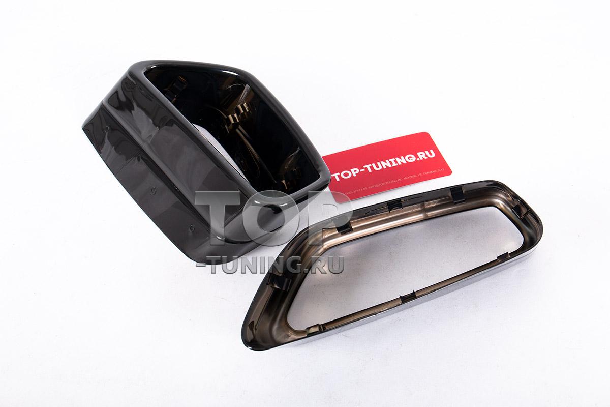 10086 Оригинальные черные насадки для BMW G30 / G31 / G32 GT / G11 LCI
