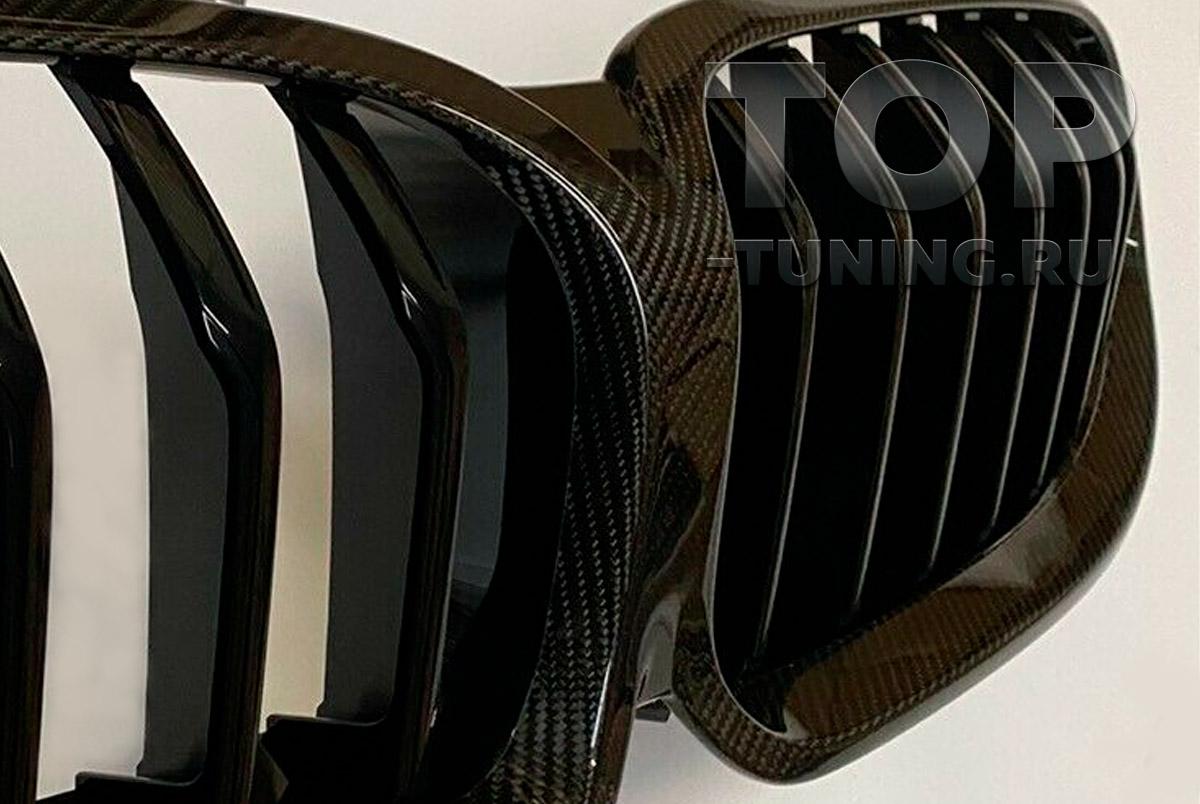 ОРИГИНАЛЬНЫЙ ТЮНИНГ БМВ КАРБОНОВАЯ РЕШЕТКА M PERFORMANCE ДЛЯ BMW 8 СЕРИИ - G14 / G15 / G16 GRAN COUPE КАРБОН / АРТ. 51712472044