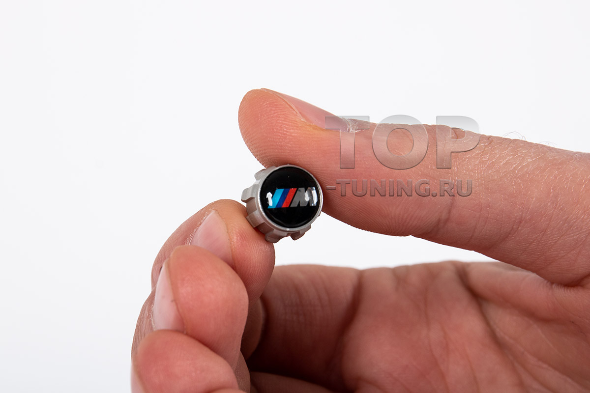 10120 Колпачки вентилей с логотипом BMW М