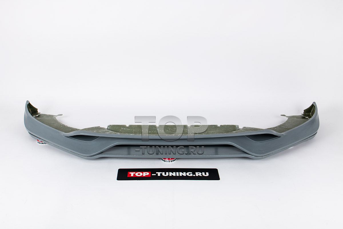 10124 Юбка TechArt на передний бампер Porsche Cayenne E-3