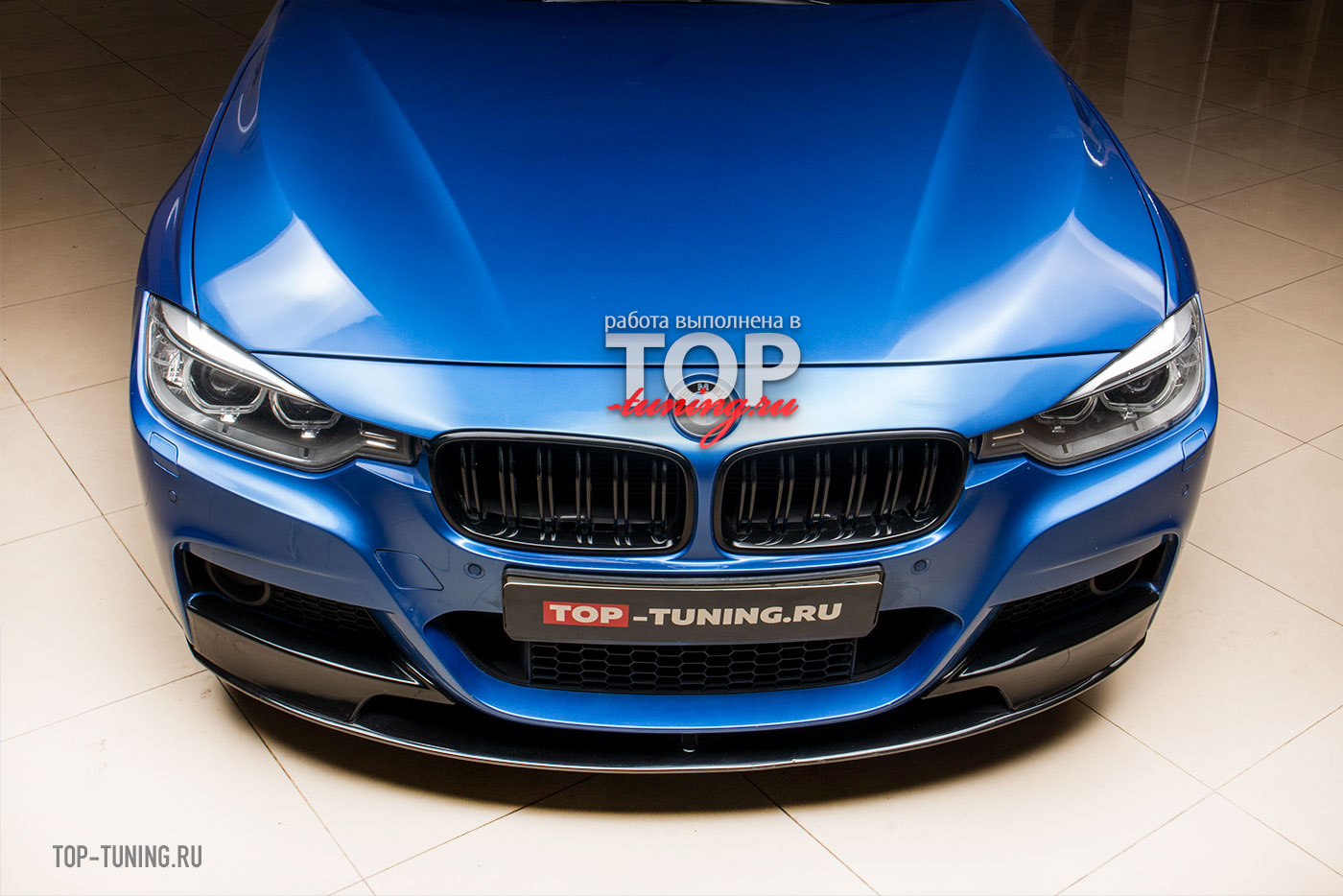 10137 Накладка M-Tech на передний бампер для BMW 3 F30