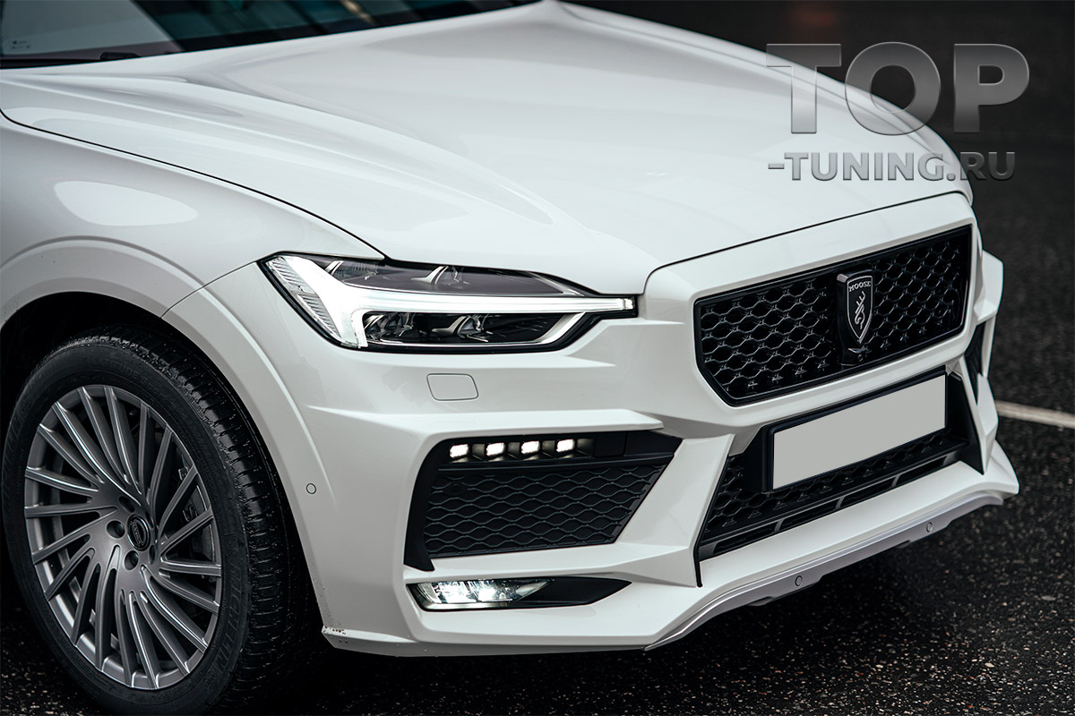 ТЮНИНГ VOLVO XC60 (2017+) ПЕРЕДНИЙ БАМПЕР MOOSE DESIGN