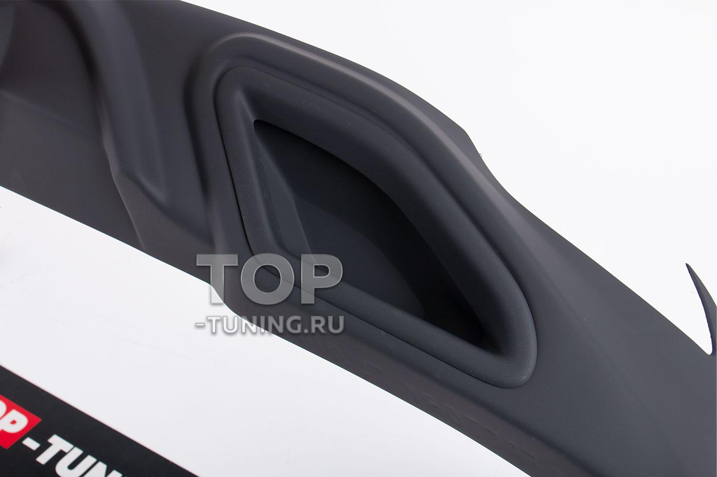 10176 Накладка Consul на задний бампер для Toyota Camry XV70 2L (2.5)