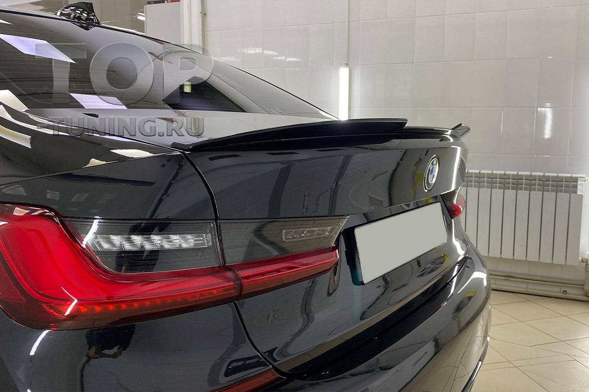 10198 Спойлер Liberty на крышку багажника для BMW 3 G20