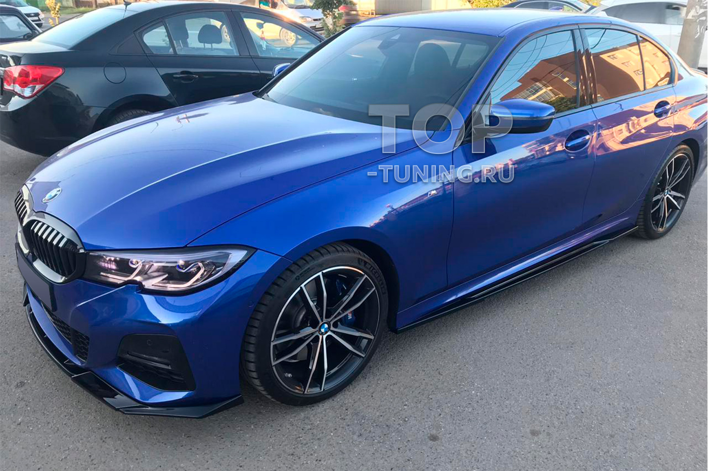 Установка обвеса Liberty на BMW 3 G30