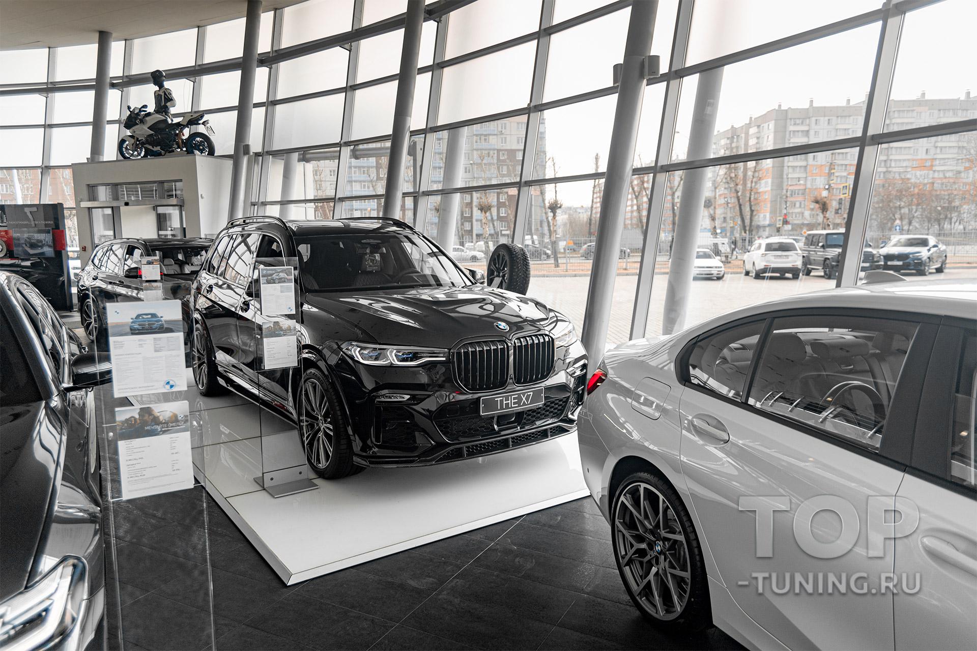 10217 Сплиттеры Renegade на пороги BMW X7 G07 2018+