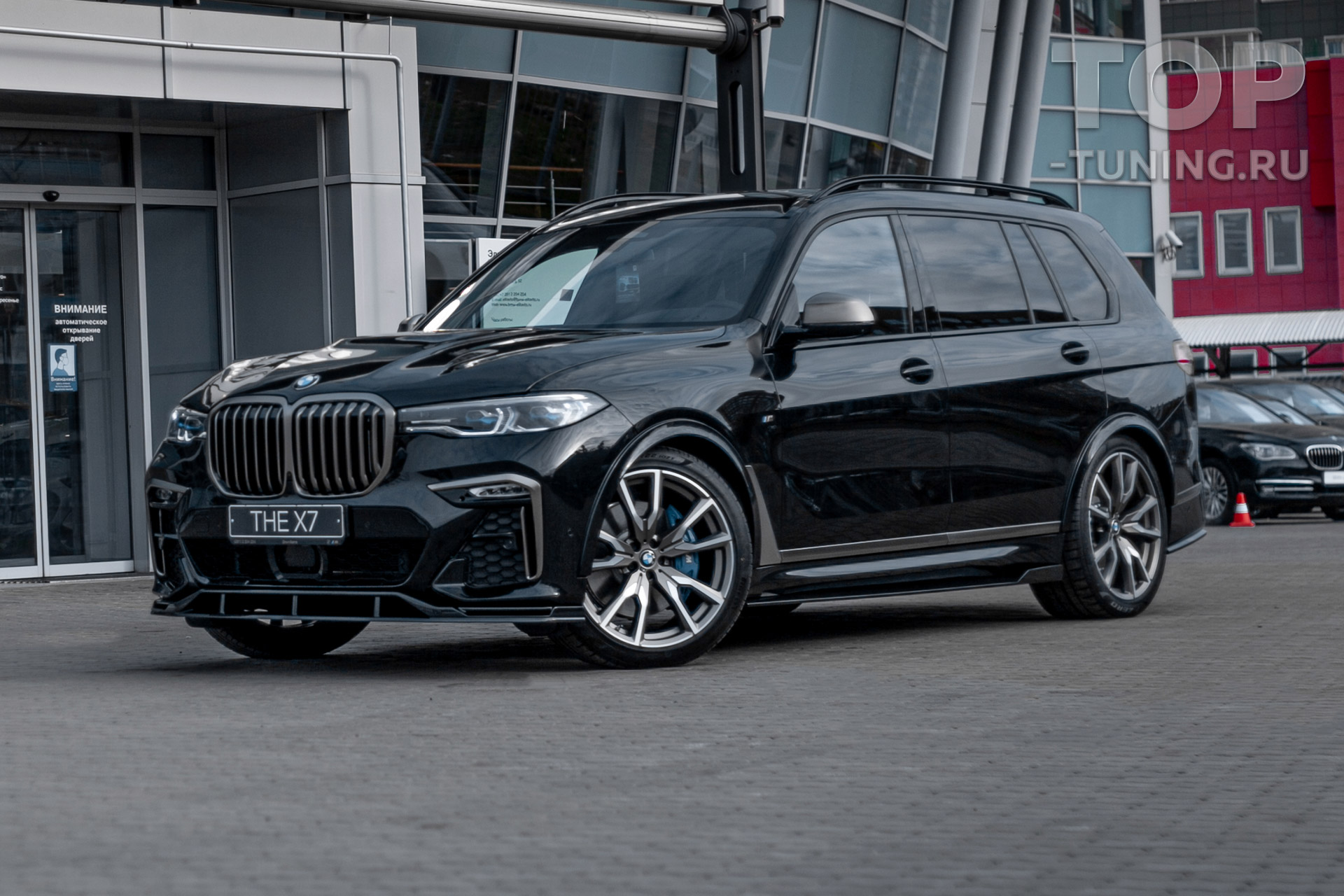 10218 Расширители арок +30 mm. Renegade для BMW X7 G07 2018+