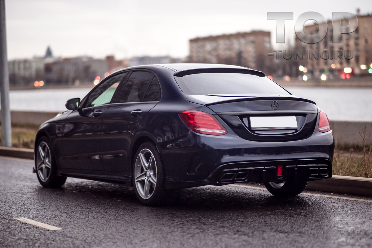 10260 Лип-спойлер Renegade на крышку багажника для Mercedes C-Class W205
