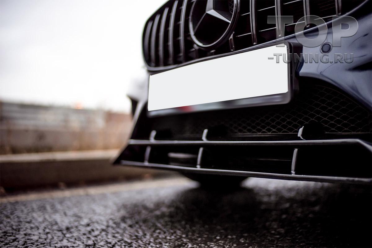 10263 Юбка Renegade на передний бампер для Mercedes C-Class W205